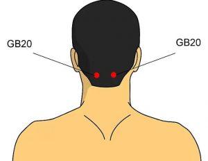 titik akupunktur GB20
